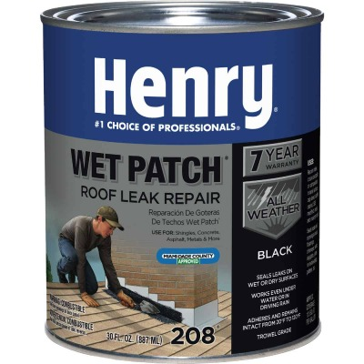 Henry Wet Patch 30 Oz. Roof Cement and Patching Sealant