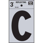 Hy-Ko Vinyl 3 In. Reflective Adhesive Letter, C Image 1