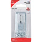 National 3-1/4 In. Zinc Non-Swivel Safety Hasp Image 2