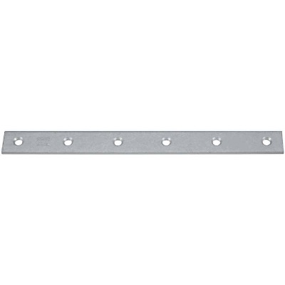 National Catalog 118 12 In. x 1-1/2 In. Galvanized Steel Mending Brace