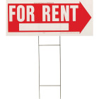 Hy-Ko Corrugated Plastic Sign, For Rent Image 1