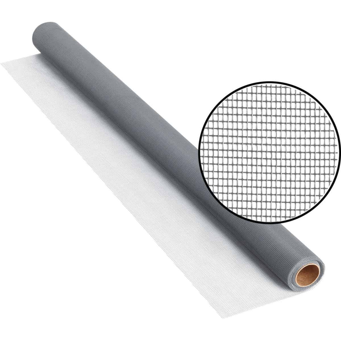 Phifer 36 In. x 25 Ft. Gray Fiberglass Screen Cloth Image 1