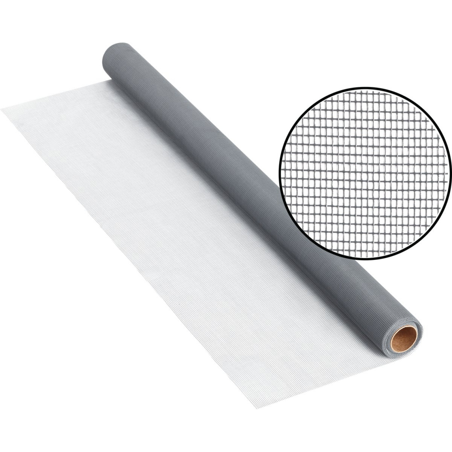 Phifer 48 In. x 25 Ft. Gray Fiberglass Screen Cloth Image 1