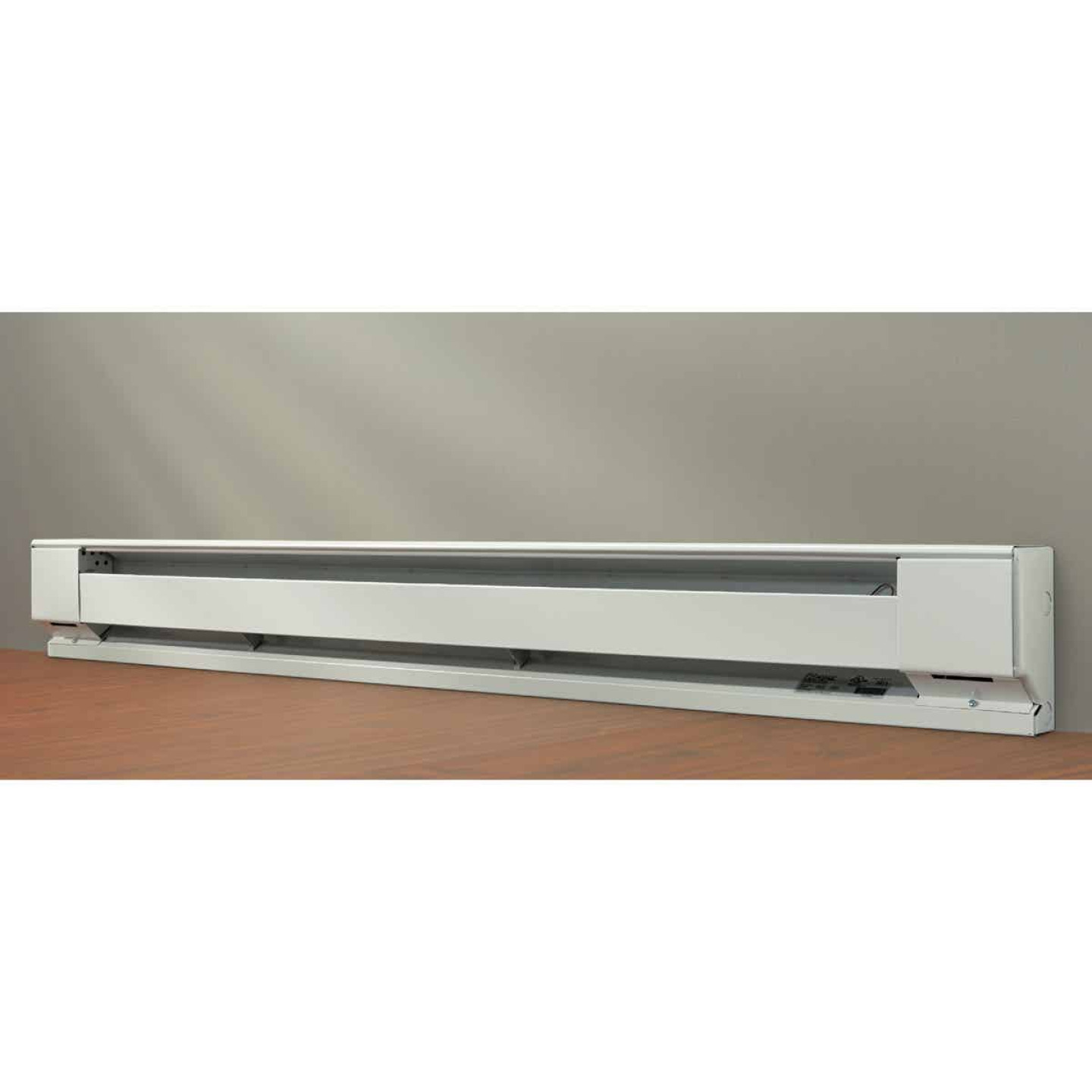 Fahrenheat 72 In. 1500-Watt 240-Volt Electric Baseboard Heater, Northern White Image 2