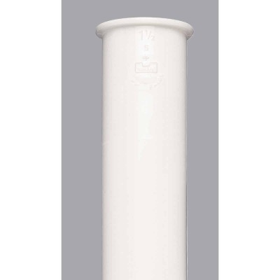 Do it 1-1/2 In. x 12 In. White Plastic Tailpiece