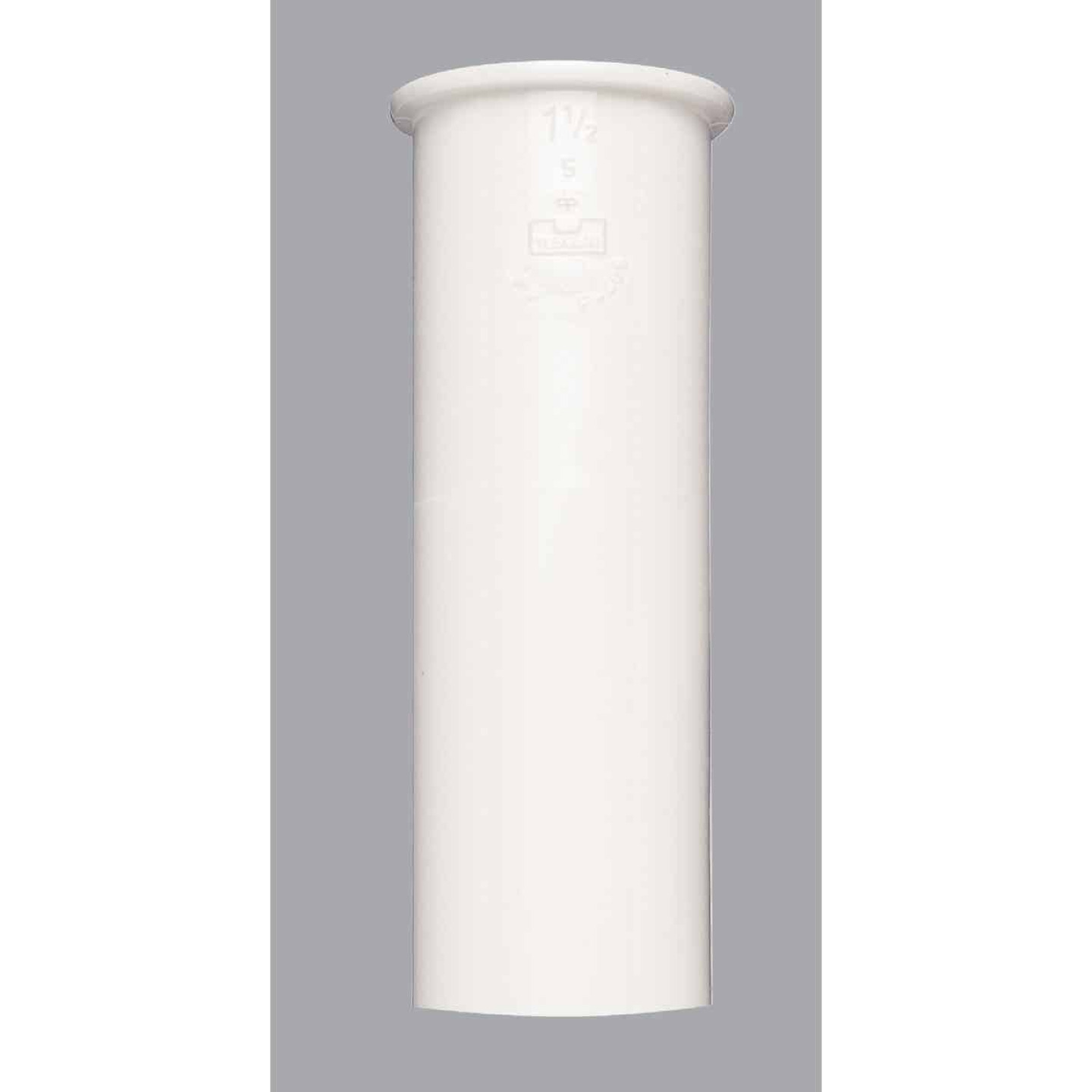 Do it 1-1/2 In. x 6 In. White Plastic Tailpiece Image 1