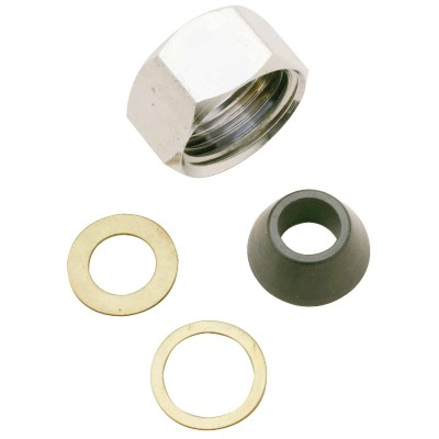 Do it 1/2 In. x 3/8 In. Slip-Joint Nut Set