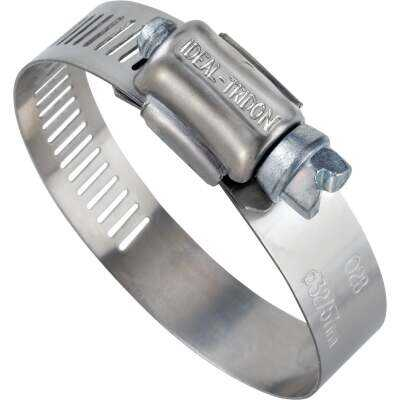 Ideal 3/8 In. - 7/8 In. 57 Stainless Steel Hose Clamp with Zinc-Plated Carbon Steel Screw