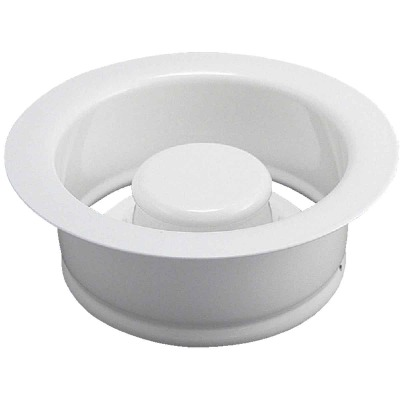 Do it White Brass Disposer Flange and Stopper