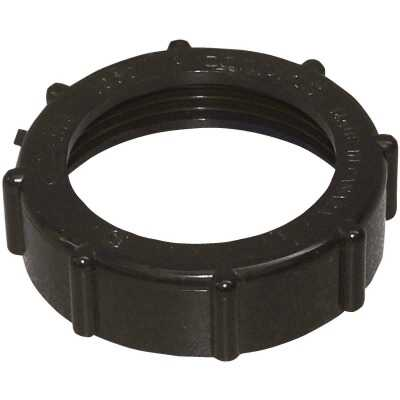 Charlotte Pipe 1-1/2 In. ABS Plastic Slip Joint Nut