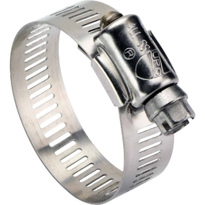 Ideal 2-3/4 In. - 3-3/4 In. All Stainless Steel Marine-Grade Hose Clamp