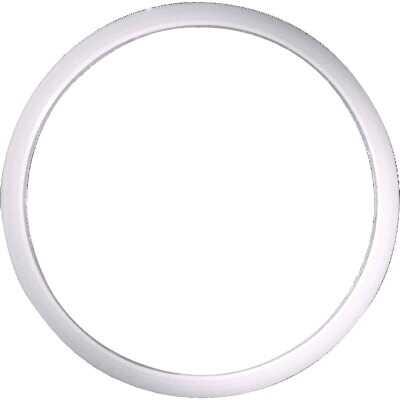 Danco 1-1/2 In. x 1-3/4 In. Clear/White Polyethylene Slip Joint Washer