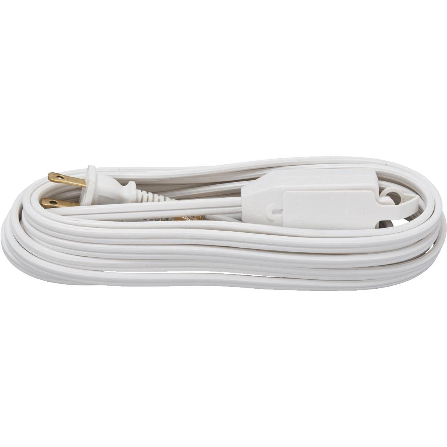 Do it Best 15 Ft. 16/2 White Cube Tap Extension Cord Image 2