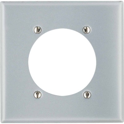 Leviton 2-Gang Steel Range/Dryer Wall Plate