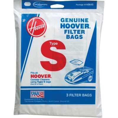 Hoover Type S Standard Vacuum Bag (3-Pack)