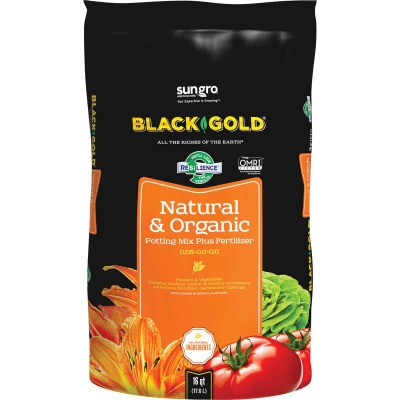 Black Gold 16 Qt. 13-1/3 Lb. All Purpose Natural & Organic Potting Soil