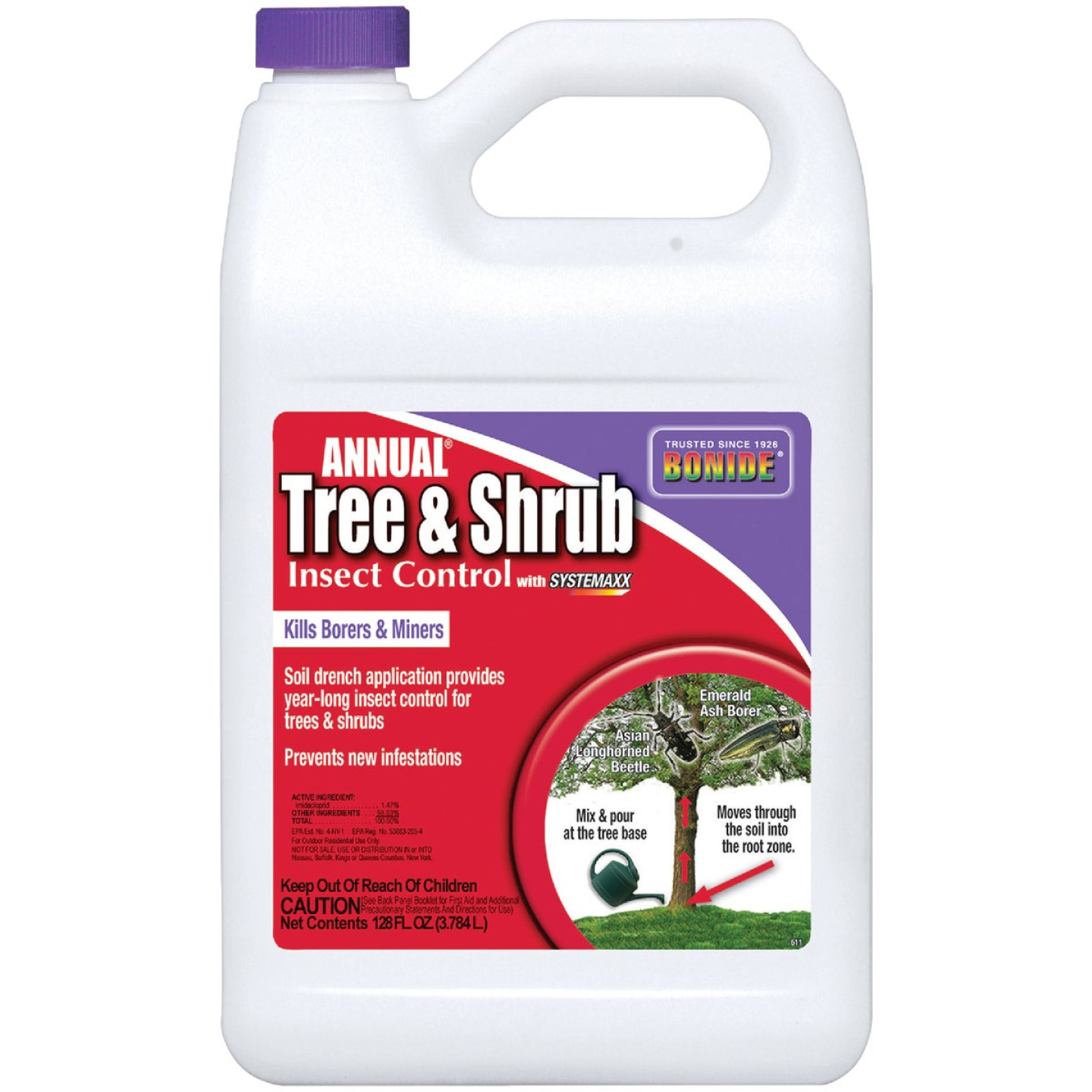 Bonide 1 Gal. Concentrate Tree & Shrub Insect Killer Image 1