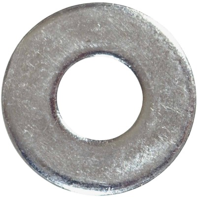 Hillman 1/4 In. Steel Zinc Plated Flat USS Washer (745 Ct., 5 Lb.)