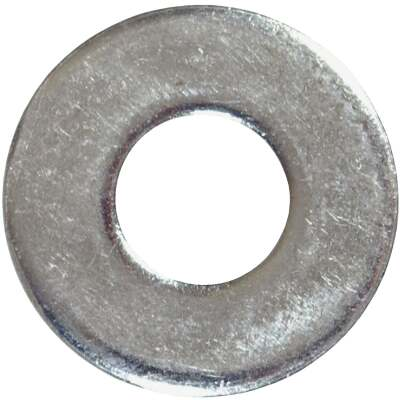 Hillman 1/2 In. Steel Zinc Plated Flat USS Washer (130 Ct., 5 Lb.)