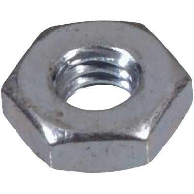 Hillman #10 24 tpi Grade 2 Zinc Hex Machine Screw Nut (100 Ct.)