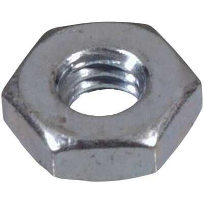 Hillman #10 32 tpi Grade 2 Zinc Hex Machine Screw Nut (100 Ct.)
