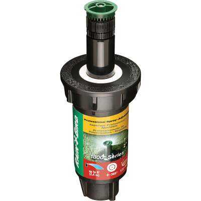 Rain Bird 2 In. Full Circle Adjustable 8 Ft. Rotary Sprinkler with Pressure Regulator