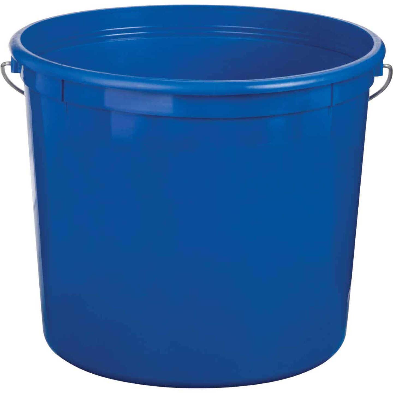 Leaktite 5 Qt. Blue Plastic Pail Image 1