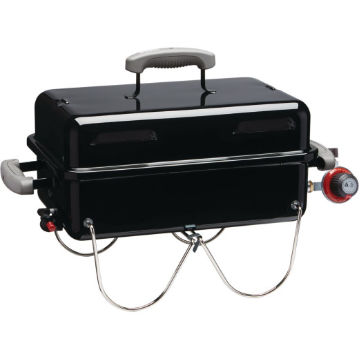Weber Go-Anywhere 1-Burner Black 6,500-BTU LP Gas Grill